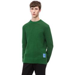 Υφασμάτινα Άνδρας Πουλόβερ Calvin Klein Jeans K10K102731 Πράσινος