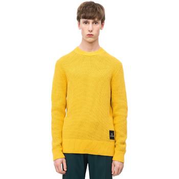 Υφασμάτινα Άνδρας Πουλόβερ Calvin Klein Jeans K10K102731 Κίτρινος