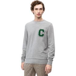 Υφασμάτινα Άνδρας Φούτερ Calvin Klein Jeans K10K102891 Γκρί