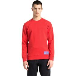 Υφασμάτινα Άνδρας Φούτερ Calvin Klein Jeans J30J307743 το κόκκινο