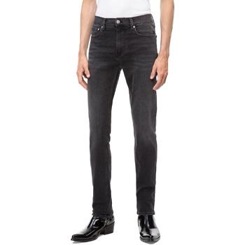 Υφασμάτινα Άνδρας Skinny Τζιν  Calvin Klein Jeans J30J308317 Μαύρος