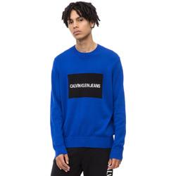 Υφασμάτινα Άνδρας Πουλόβερ Calvin Klein Jeans J30J309542 Μπλε