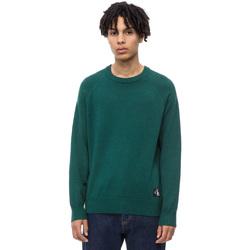 Υφασμάτινα Άνδρας Πουλόβερ Calvin Klein Jeans J30J309563 Πράσινος