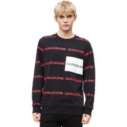 Υφασμάτινα Άνδρας Πουλόβερ Calvin Klein Jeans J30J309796 Μαύρος