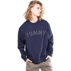 Υφασμάτινα Άνδρας Φούτερ Tommy Hilfiger DM0DM04463 Μπλε