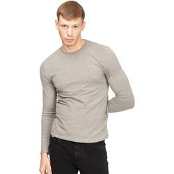 Υφασμάτινα Άνδρας Μπλουζάκια με μακριά μανίκια Gas 300187 Γκρί