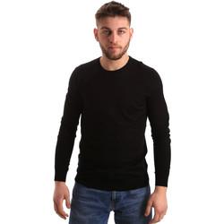 Υφασμάτινα Άνδρας Πουλόβερ Gaudi 821FU53080 Μαύρος