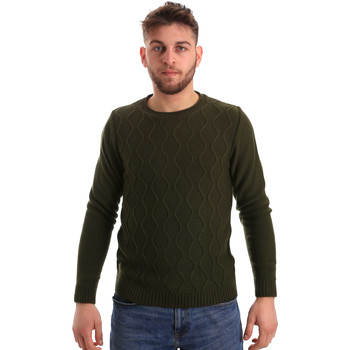 Υφασμάτινα Άνδρας Πουλόβερ Bradano 155 Πράσινος