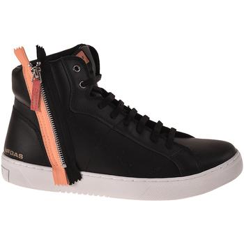 Παπούτσια Άνδρας Ψηλά Sneakers Gas GAM824085 Μαύρος