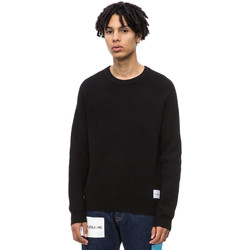 Υφασμάτινα Άνδρας Πουλόβερ Calvin Klein Jeans J30J309547 Μαύρος