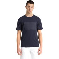 Υφασμάτινα Άνδρας T-shirt με κοντά μανίκια Calvin Klein Jeans J30J307868 Μπλε