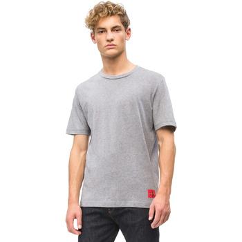 Υφασμάτινα Άνδρας T-shirt με κοντά μανίκια Calvin Klein Jeans J30J309616 Γκρί