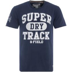 Υφασμάτινα Άνδρας T-shirt με κοντά μανίκια Superdry M10600NR Μπλε