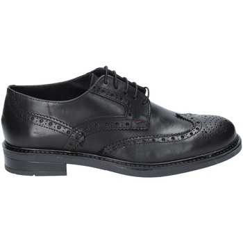 Παπούτσια Άνδρας Derby Rogers 3040 Μαύρος