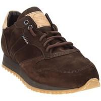 Παπούτσια Άνδρας Χαμηλά Sneakers Exton 777 καφέ