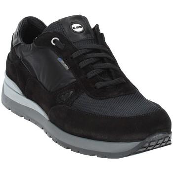 Παπούτσια Άνδρας Χαμηλά Sneakers Exton 993 Μαύρος