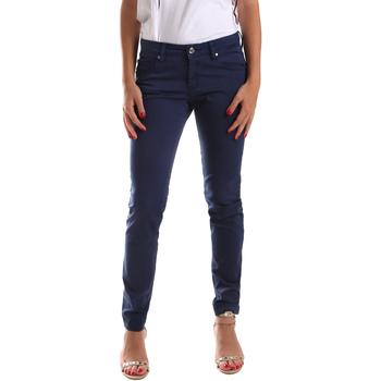 Υφασμάτινα Γυναίκα Παντελόνια Πεντάτσεπα Gaudi 911BD25010 Μπλε