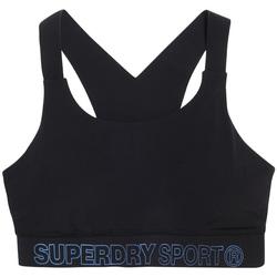 Υφασμάτινα Γυναίκα Αθλητικά μπουστάκια  Superdry GS3009AR Μαύρος