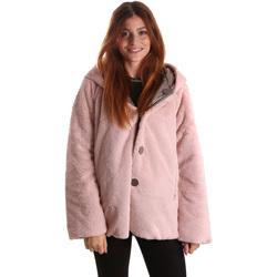 Υφασμάτινα Γυναίκα Παρκά Byblos Blu 689104 Ροζ