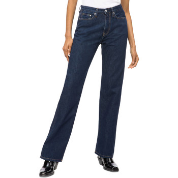 Υφασμάτινα Γυναίκα Τζιν σε ίσια γραμμή Calvin Klein Jeans J20J207612 Μπλε