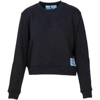 Υφασμάτινα Γυναίκα Φούτερ Calvin Klein Jeans J20J208047 Μαύρος