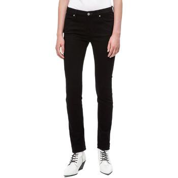 Υφασμάτινα Γυναίκα Skinny Τζιν  Calvin Klein Jeans J20J208292 Μαύρος