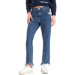 Υφασμάτινα Γυναίκα Boyfriend jeans Tommy Hilfiger DW0DW04757 Μπλε