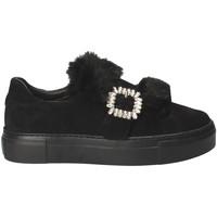 Παπούτσια Γυναίκα Slip on Grunland SC4007 Μαύρος
