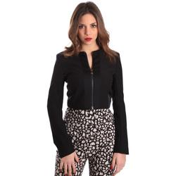 Υφασμάτινα Γυναίκα Σακάκι / Blazers Gaudi 821FD35003 Μαύρος