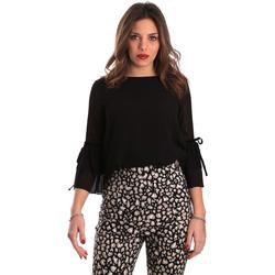 Υφασμάτινα Γυναίκα Μπλούζες Gaudi 821FD45036 Μαύρος