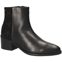 Παπούτσια Γυναίκα Μποτίνια Tommy Hilfiger FW0FW03589 Μαύρος