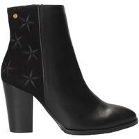 Παπούτσια Γυναίκα Μποτίνια Tommy Hilfiger FW0FW03590 Μαύρος