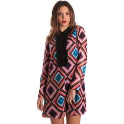 Υφασμάτινα Γυναίκα Κοντά Φορέματα Denny Rose 821DD10026 Μαύρος