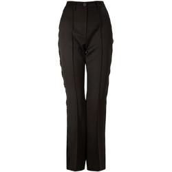 Υφασμάτινα Γυναίκα Παντελόνια Chino/Carrot Denny Rose 821DD20001 Μαύρος