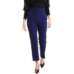 Υφασμάτινα Γυναίκα Παντελόνια Chino/Carrot Denny Rose 821DD20001 Μπλε