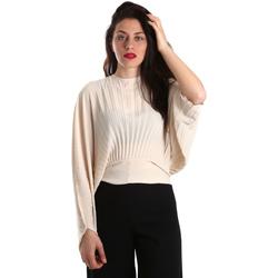 Υφασμάτινα Γυναίκα Μπλούζες Denny Rose 821DD40001 Μπεζ