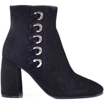 Παπούτσια Γυναίκα Μποτίνια Elvio Zanon I0603P.ELZAVTNENER Μαύρος