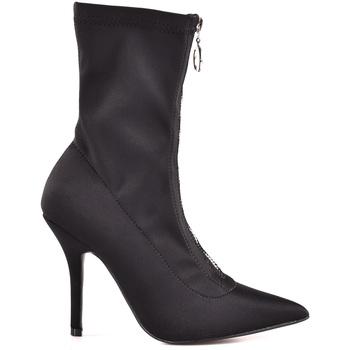 Παπούτσια Γυναίκα Μποτίνια Gold&gold B18 GD05 Μαύρος