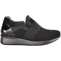 Παπούτσια Γυναίκα Slip on Melluso R25018T Μαύρος