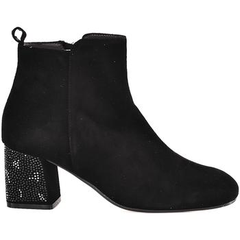 Παπούτσια Γυναίκα Μποτίνια Melluso Z801E Μαύρος