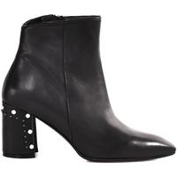 Παπούτσια Γυναίκα Μποτίνια Melluso Z940 Μαύρος