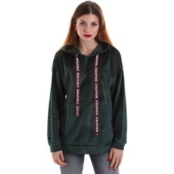 Υφασμάτινα Γυναίκα Φούτερ Key Up 5CS91 0001 Πράσινος