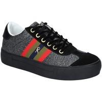 Παπούτσια Γυναίκα Χαμηλά Sneakers Roberta Di Camerino RDC82140 Μαύρος