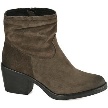 Παπούτσια Γυναίκα Μποτίνια Mally 5341 Πράσινος