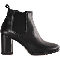 Παπούτσια Γυναίκα Μποτίνια Mally 5500 Μαύρος