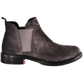 Παπούτσια Γυναίκα Μποτίνια Mally 5948 Γκρί