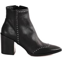 Παπούτσια Γυναίκα Μποτίνια Mally 6333 Μαύρος