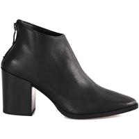 Παπούτσια Γυναίκα Μποτίνια Mally 6341 Μαύρος