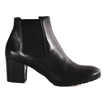 Παπούτσια Γυναίκα Μποτίνια Mally 6418 Μαύρος
