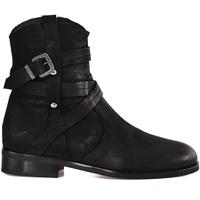 Παπούτσια Γυναίκα Μποτίνια Mally 6431 Μαύρος
